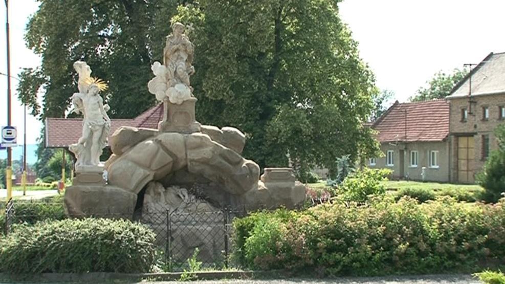 Sousoší ve Chvalkovicích