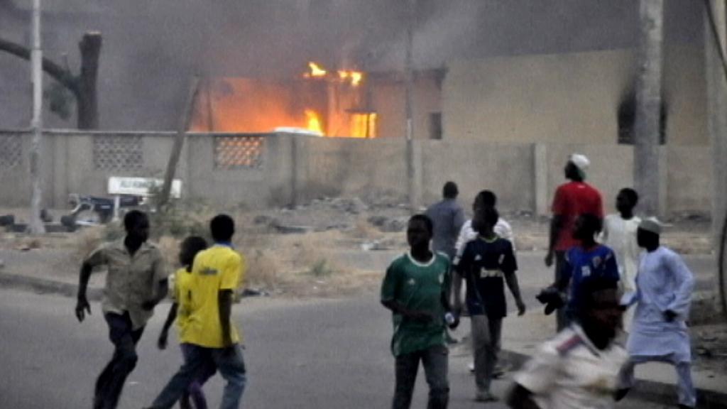 Nepokoje v Nigérii