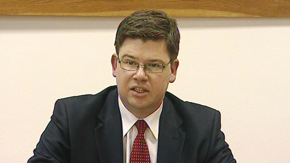 Ministr spravedlnosti Jiří Pospíšil (ODS)