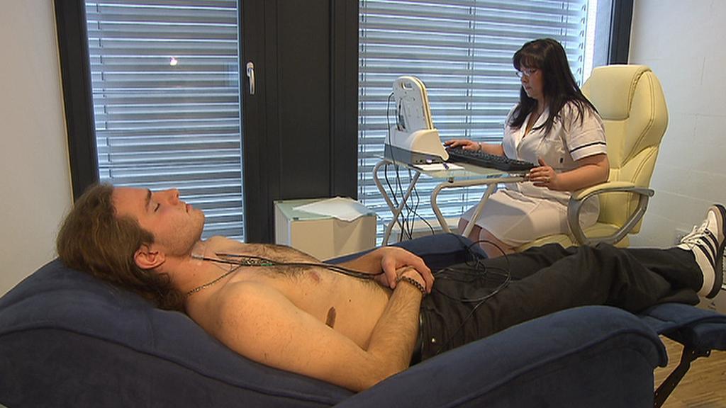 Neinvazivní analýza krve