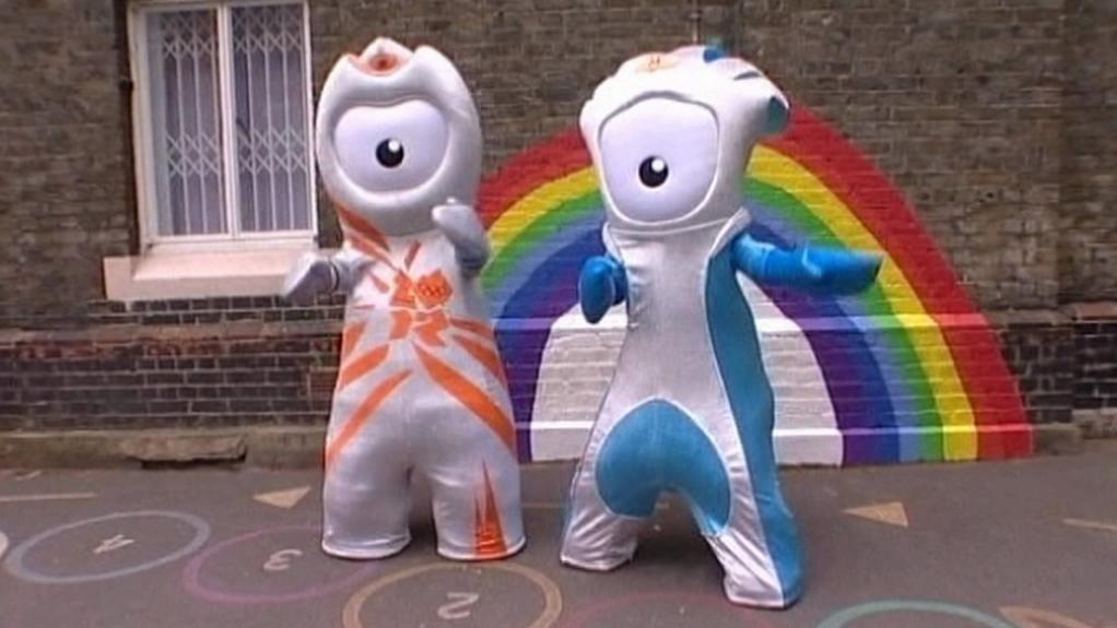 Maskoti londýnské olympiády