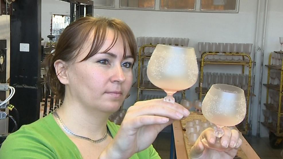 Ruský trh si potrpí na luxusní skleněné výrobky