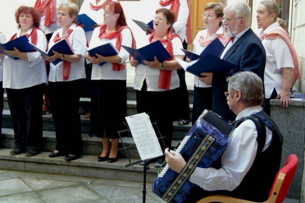 Koncert pěveckého sboru Radostné přátelství
