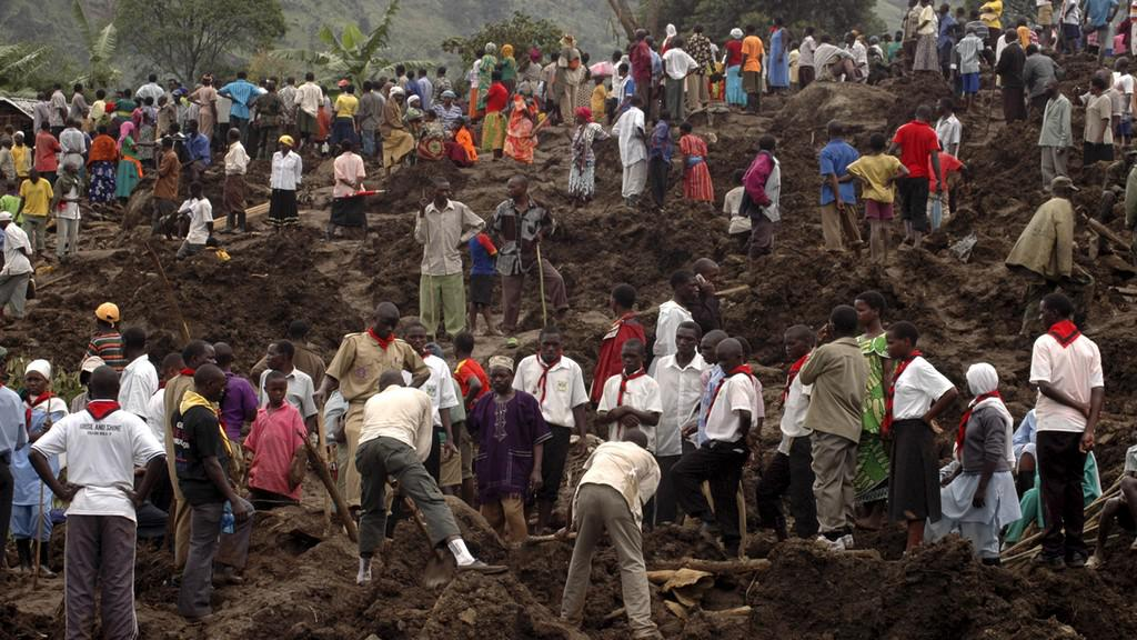 Sesuvy půdy v Ugandě