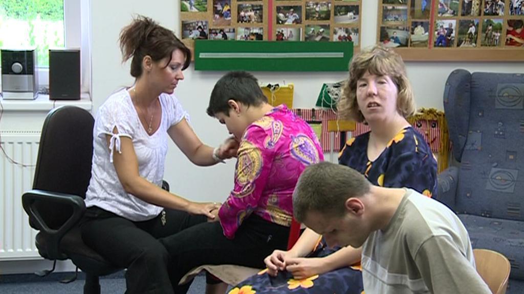 Hluchoslepí učni