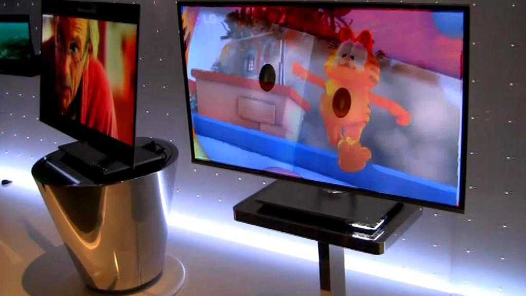 OLED televize na veletrhu CES