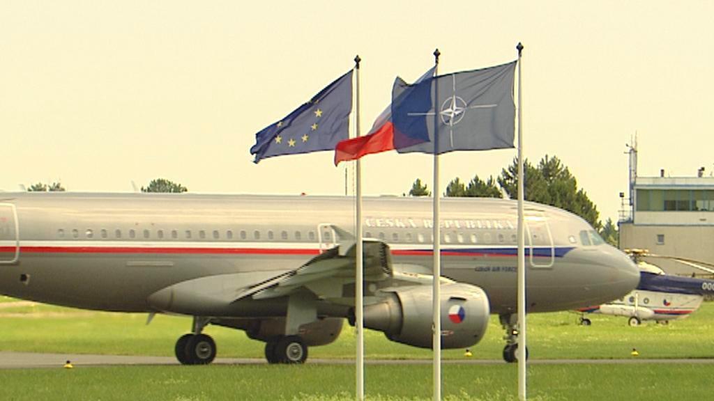 Letecký speciál pro zraněné z Chorvatska