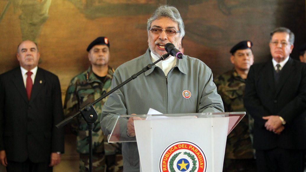 Paraguayský prezident Fernando Lugo
