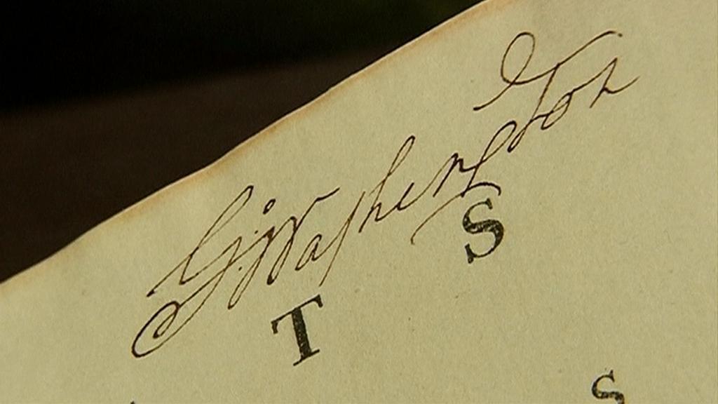 Vydražená Washingtonova ústava