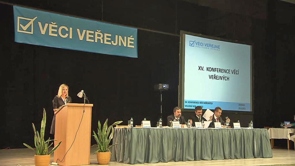 Konference Věcí veřejných ve Znojmě
