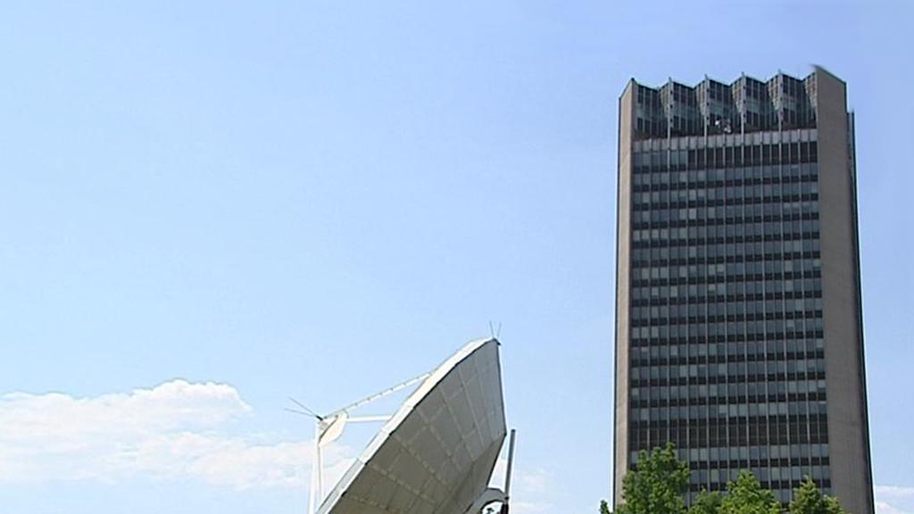 Budova slovenské televize