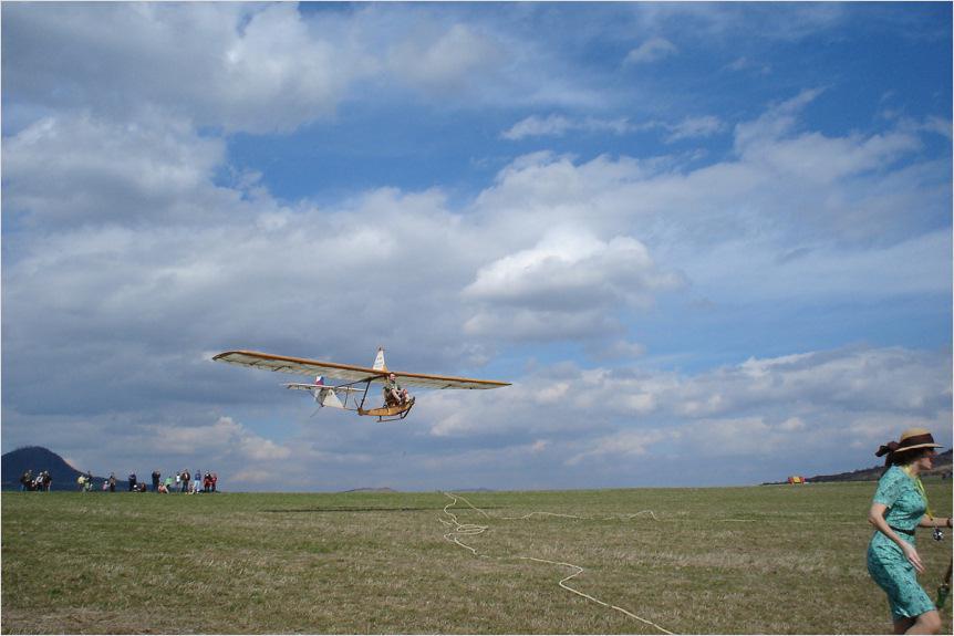 Raná - historické letadlo