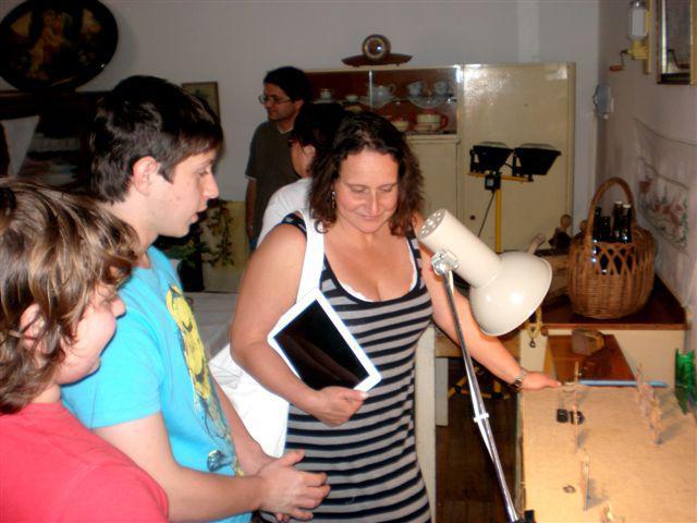 Z otevření vesnického muzea v Košticích