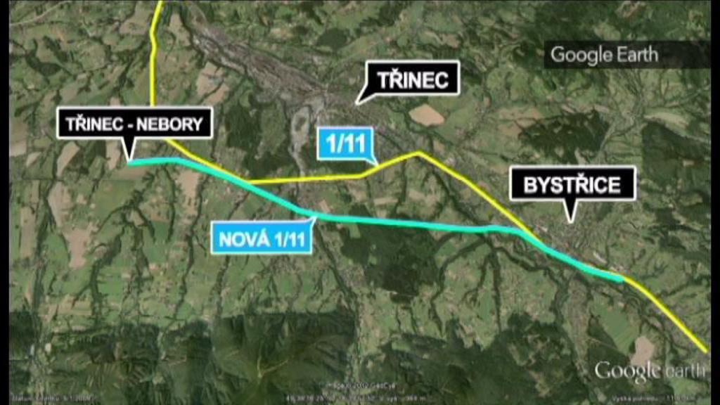 Stavba hlavního tahu na Slovensko