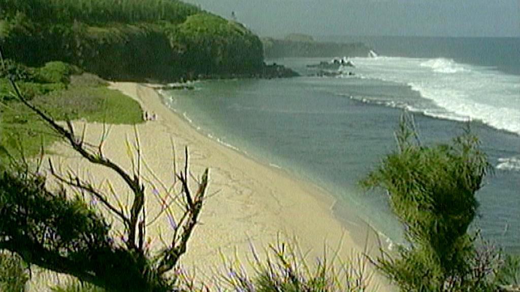 Zlatavé pláže na Mauriciu