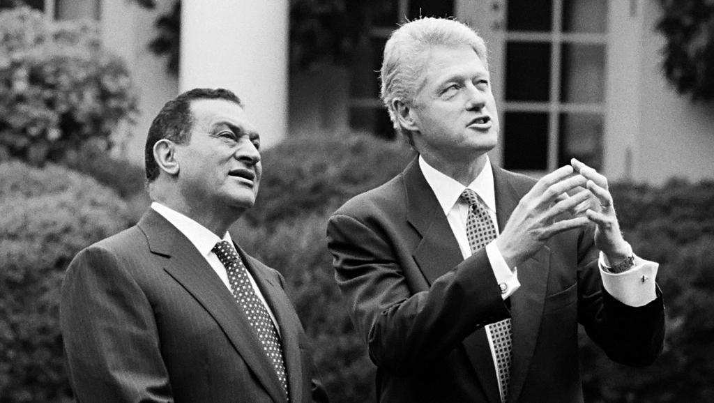 Mubarak na audienci u Billa Clintona