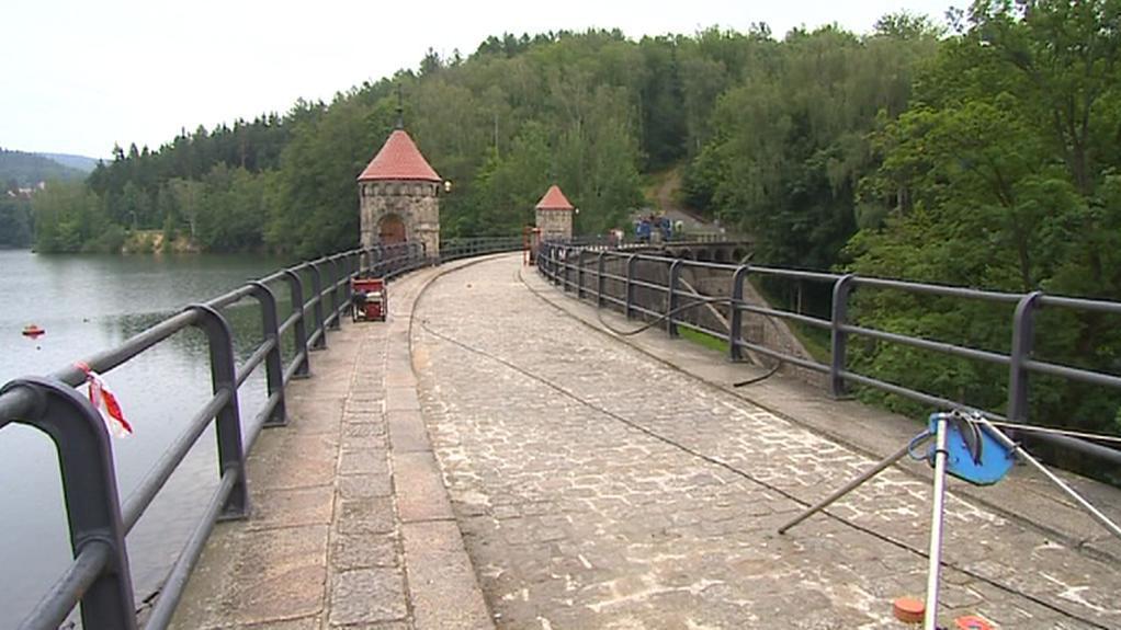 Liberecká přehrada v Harcově