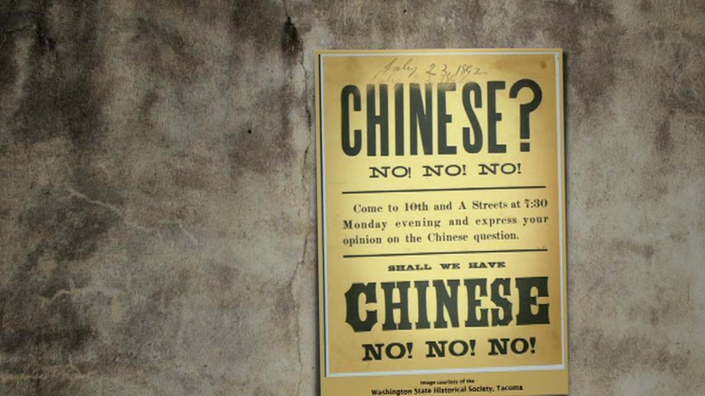 Protičínský plakát