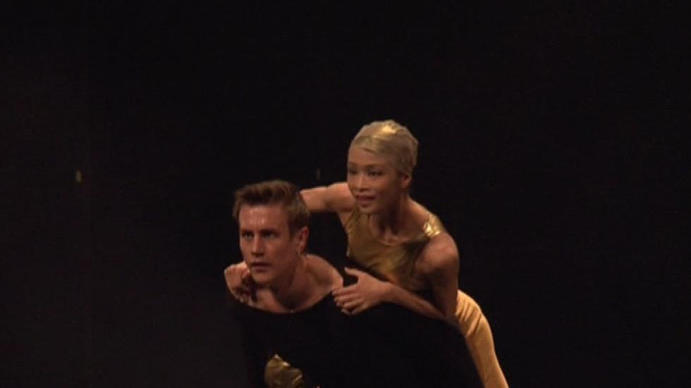 Jedním z posledních kontroverzních představení Národního divadla byl Pták Ohnivák