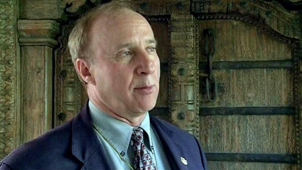 Archeolog Richard Hensen