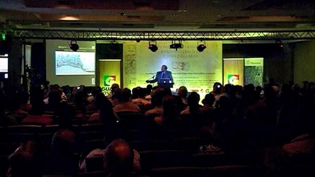 Konference expertů na mayskou kulturu v Guatemale