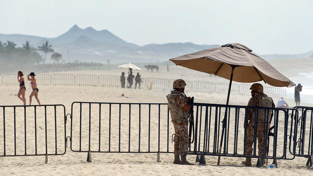 Vojáci střežící summit G20