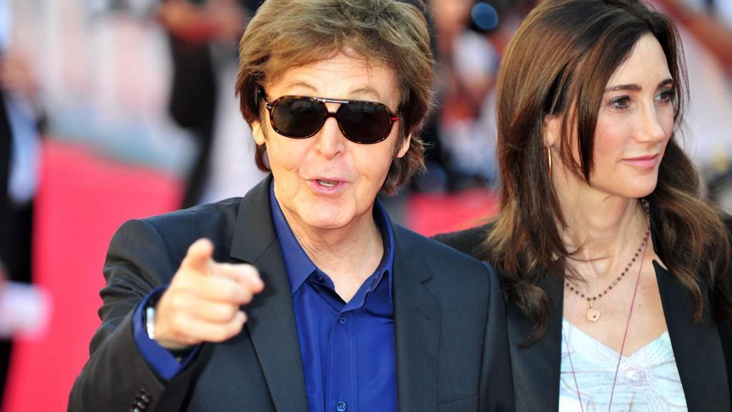 Paul McCartney a Nancy Shevellová