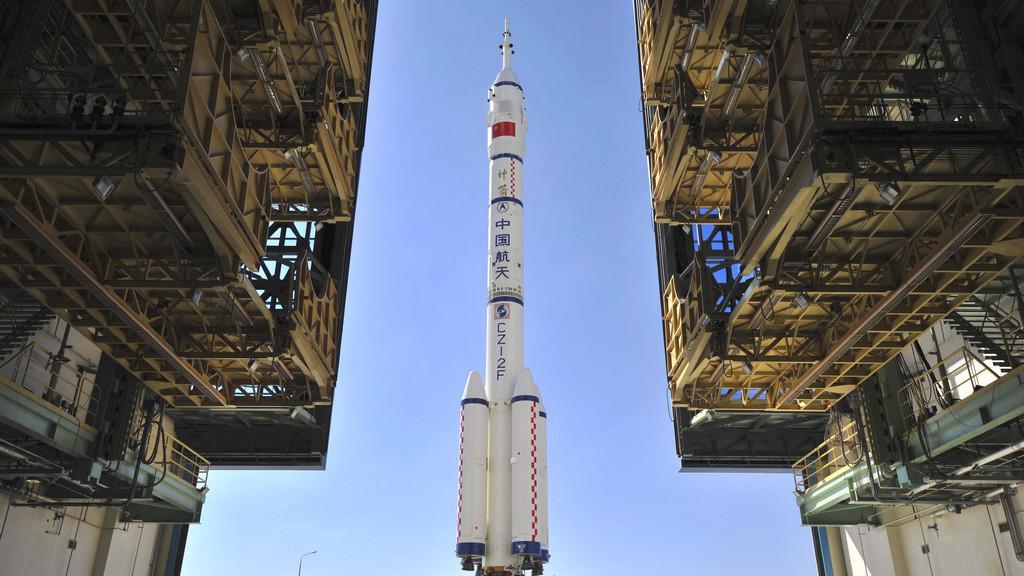 Příprava startu Šen-čou 9