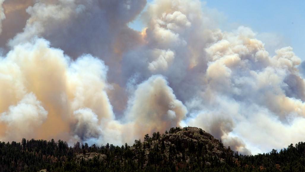 Požár v americkém státě Colorado