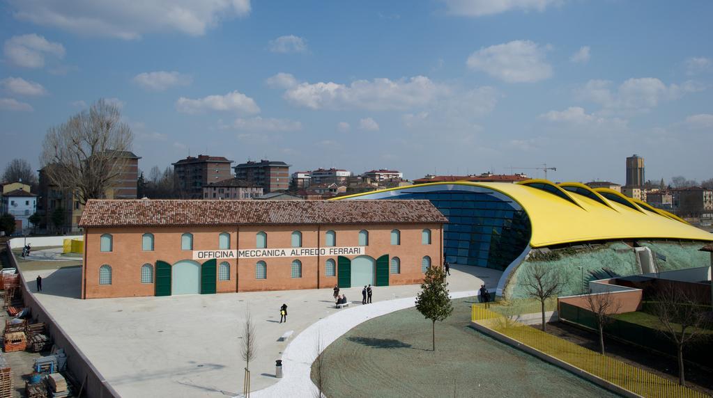 Muzeum firmy Ferrari v italské Modeně