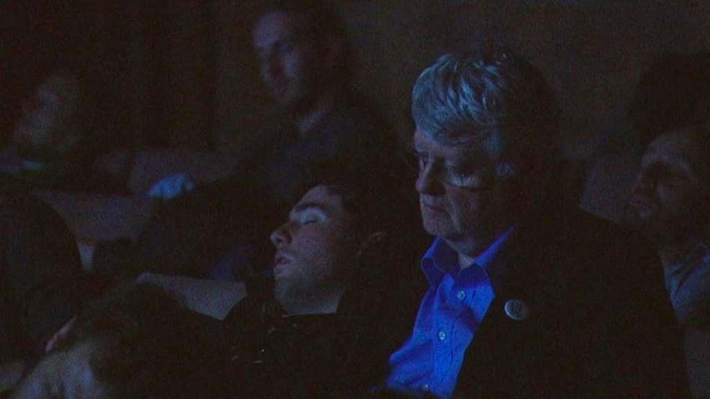 Někteří diváci při představení usnuli