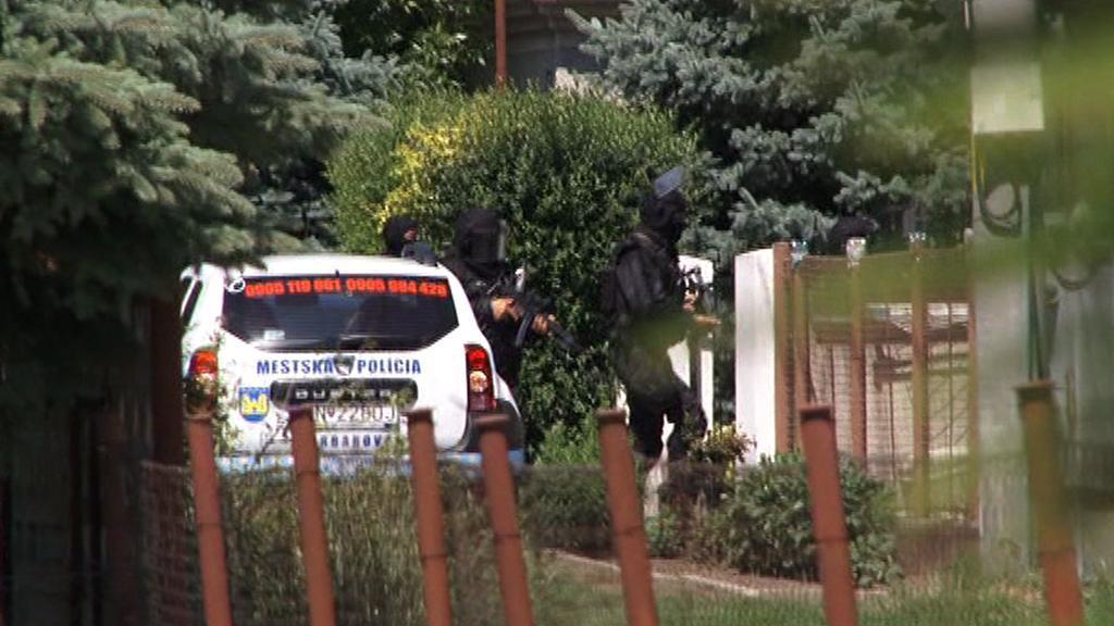 Zásah policie v Hurbanovu