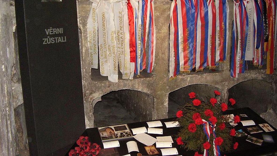 Krypta v kostele sv. Cyrila a Metoděje