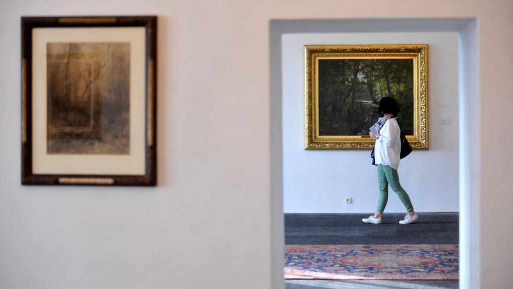 Výstava obrazů Julia Mařáka na zámku v Litomyšli
