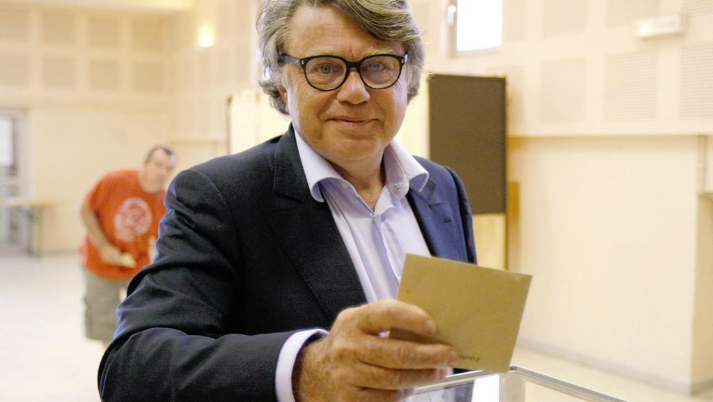 Gilbert Collard, kandidát Národní fronty