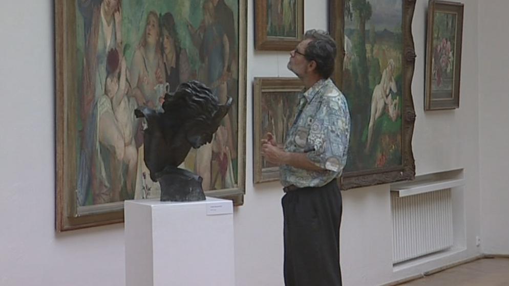 Návštěvníci mají možnost prohlédnout si unikátní sbírku