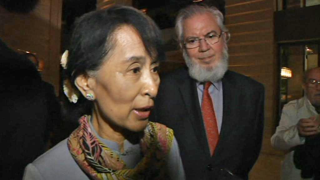 Su Ťij po příjezdu do Ženevy