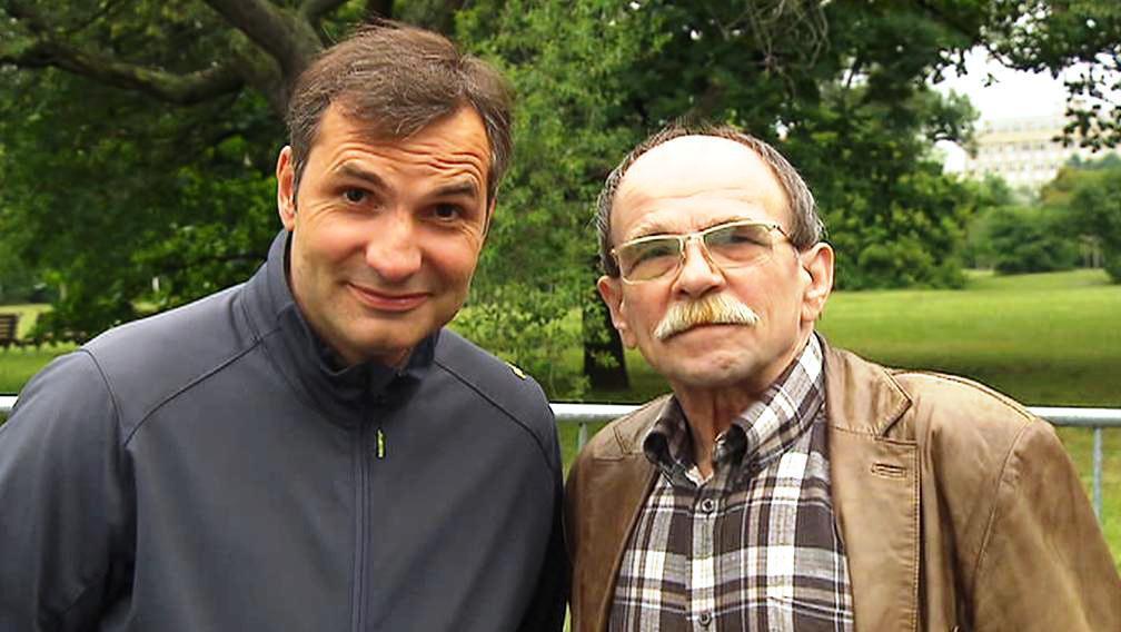 Jiří Macháček a Jaroslav Uhlíř