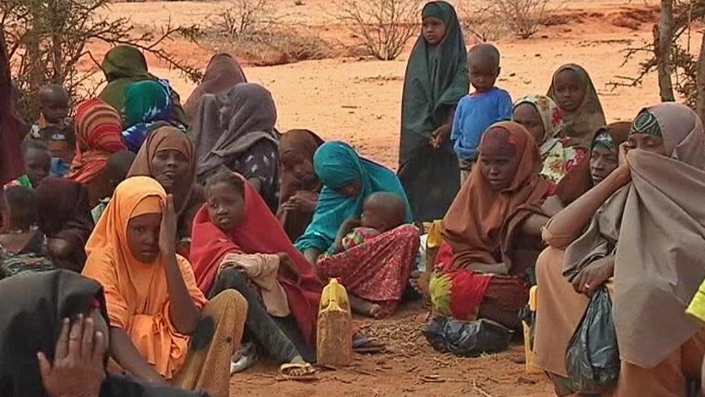 Hladomor na východě Afriky