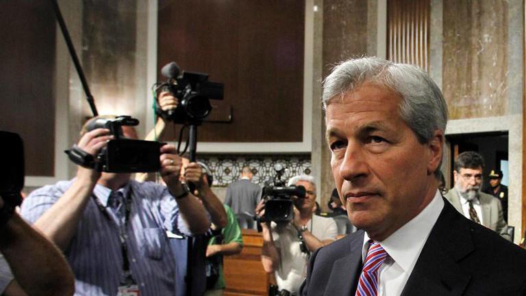 Šéf JPMorgan Chase & Co Jamie Dimon