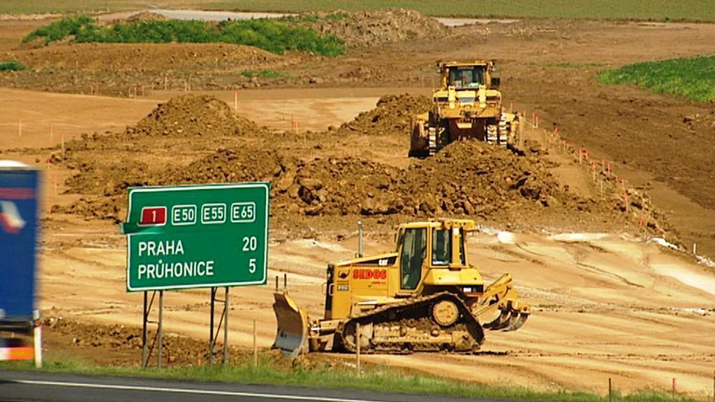 Stavba dálničního obchvatu