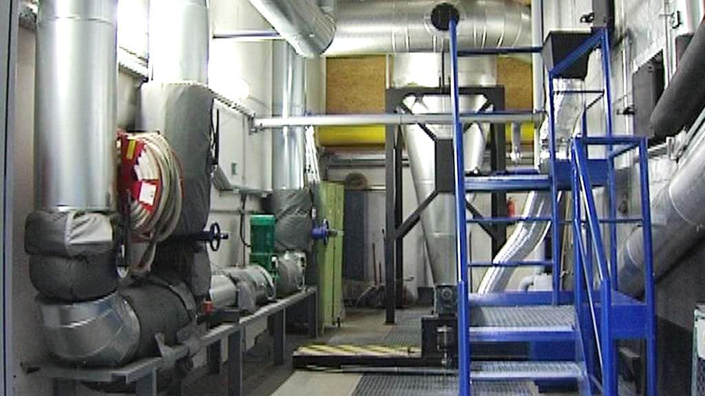 Kotelna na biomasu