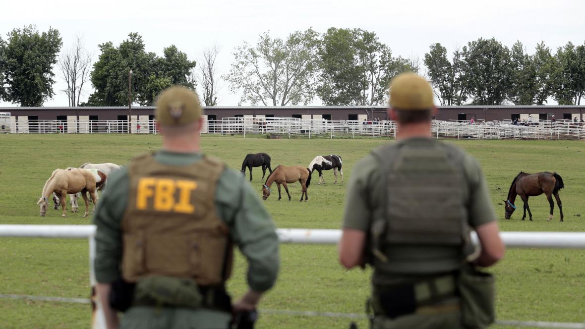 Agenti FBI na ranči mexického drogového mafiána