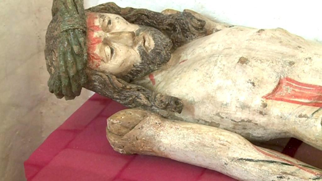 Unikátní socha Krista