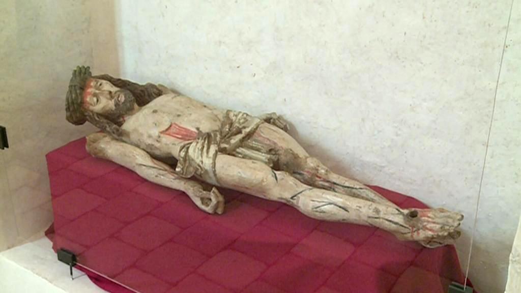 Kristus ležící na hrobě