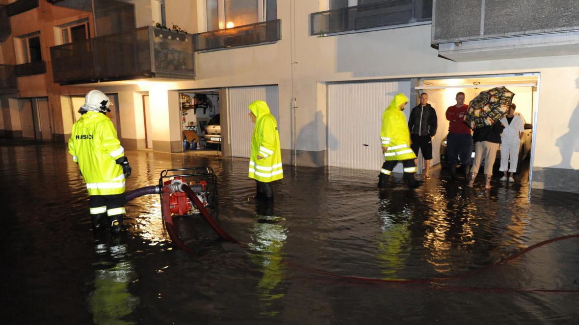 Záplavy na jižní Moravě