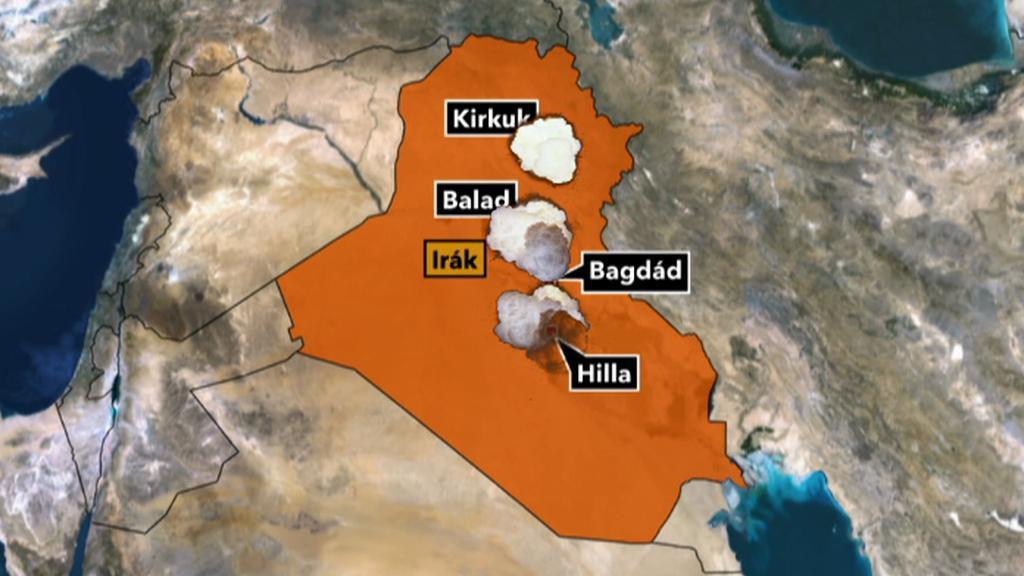 Útoky v Iráku