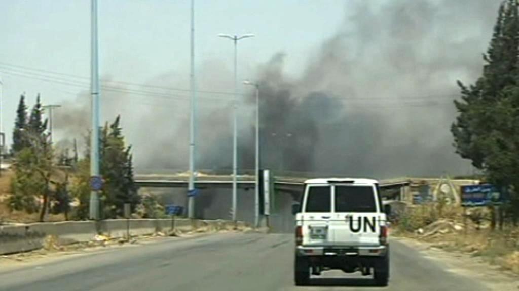 Pozorovatelé OSN