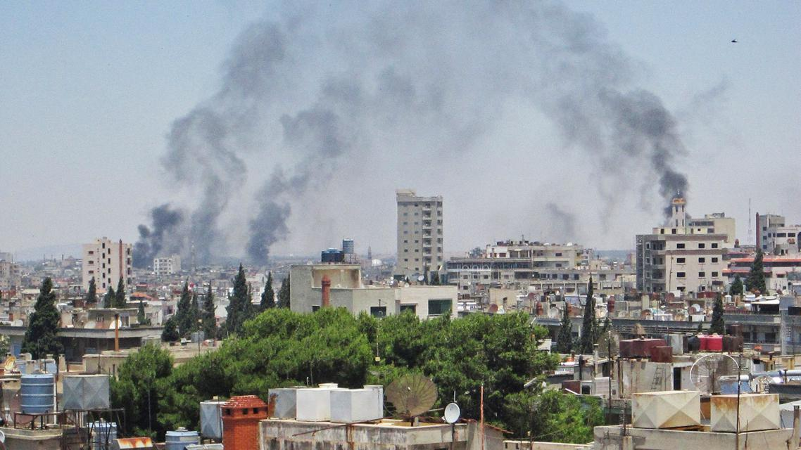 Boje v Homsu