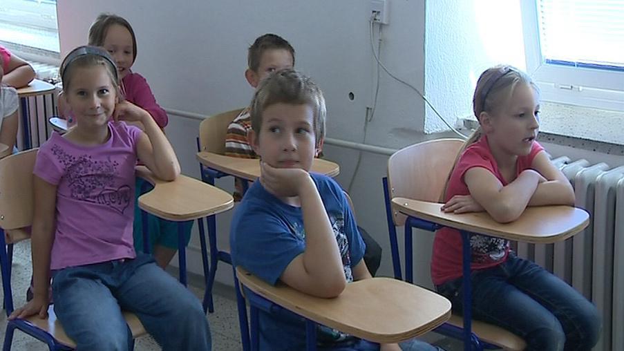 Ve vesnické škole chodí v průměru 16 dětí do jedné třídy